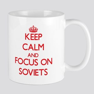 Keep Calm and focus on Soviets Mugs