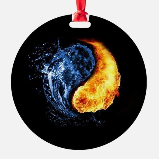 Elemental Yin Yang Ornament