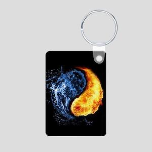 Elemental Yin Yang Keychains