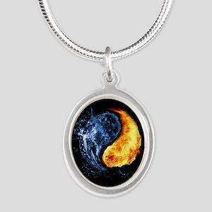 Elemental Yin Yang Necklaces