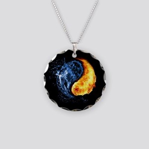 Elemental Yin Yang Necklace