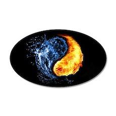 Elemental Yin Yang Wall Decal