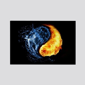 Elemental Yin Yang Magnets
