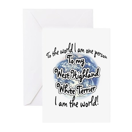 Westie World2 Greeting Cards (Pk of 10)
