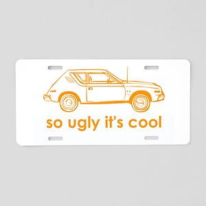 AMC Gremlin Aluminum License Plate