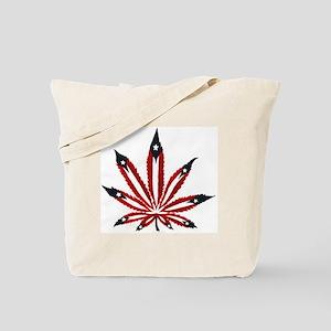 PR Weed Leaf Tote Bag