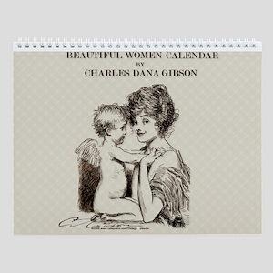 Gibson Beautiful Women 11x9 Wall Calendar