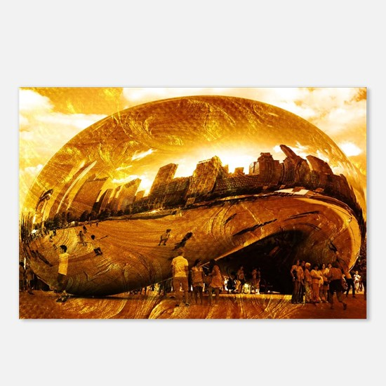 Chicago Gold Postcards (Package of 8)