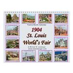 St. Louis World's Fair 1904 Wall Calendar