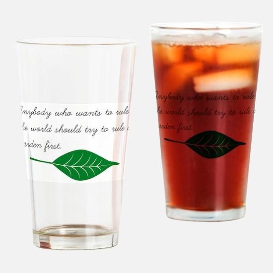 Cute Grower Drinking Glass
