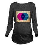 Life Begins At Conception Long Sleeve Maternity T-