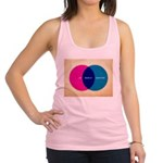 Life Begins At Conception Racerback Tank Top