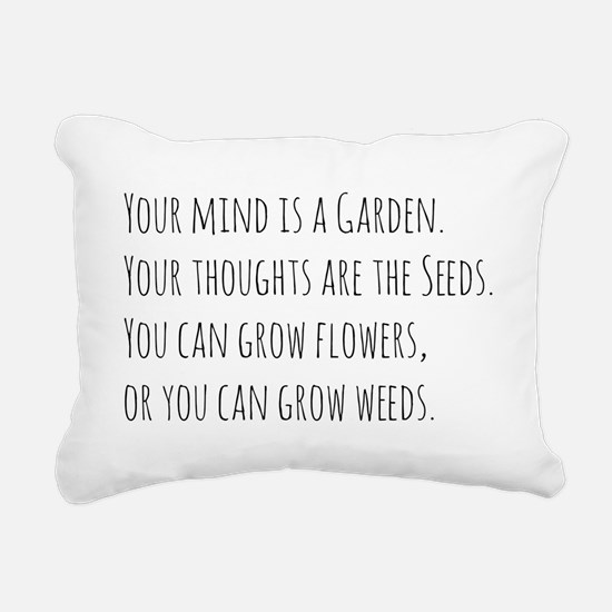 Cute Weeds Rectangular Canvas Pillow