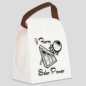 i farm solar power Canvas Lunch Bag