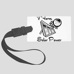 i farm solar power Luggage Tag