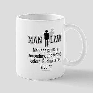 MAN LAW Mug