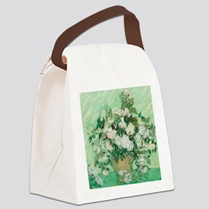 Roses by Vincent van Gogh Print Canvas Lunch Bag