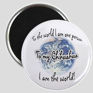 Chihuahua World2 Magnet