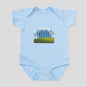 wind farm windmills Body Suit