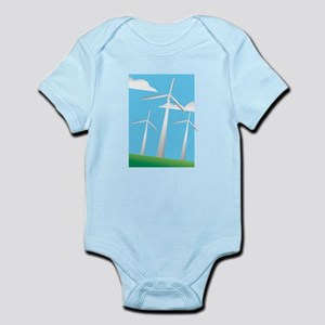 pretty windmills Body Suit