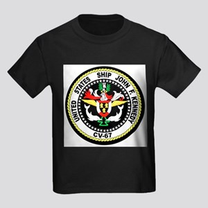 USS John F. Kennedy Ash Grey T-Shirt