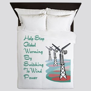 help stop global warming by switching to wind powe