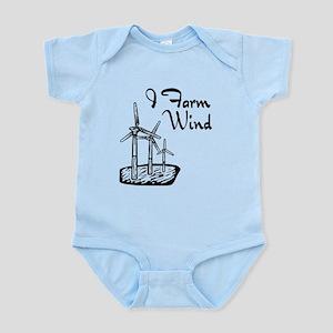 i farm wind with 3 windmills Body Suit