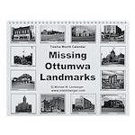 Missing Landmarks Wall Calendar