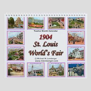 St. Louis World's Fair Wall Calendar