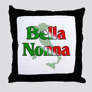 Bella Nonna Throw Pillow