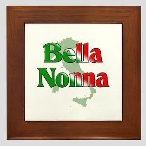 Bella Nonna Framed Tile