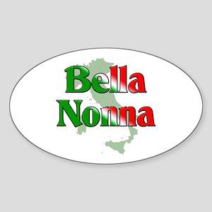Bella Nonna Oval Sticker