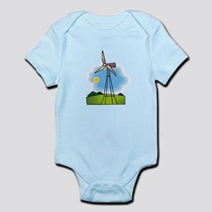windmill in the country Body Suit
