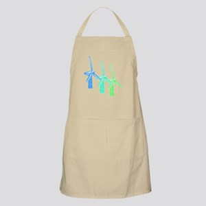 windmills in color Apron
