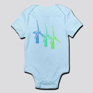 windmills in color Body Suit