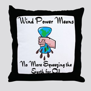 wind power means no more squeezing the planet for