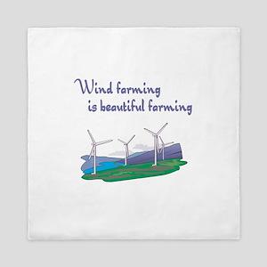 wind farming is beautiful farming windmills Qu
