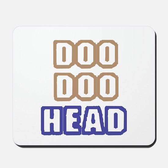 DOO DOO HEAD Mousepad