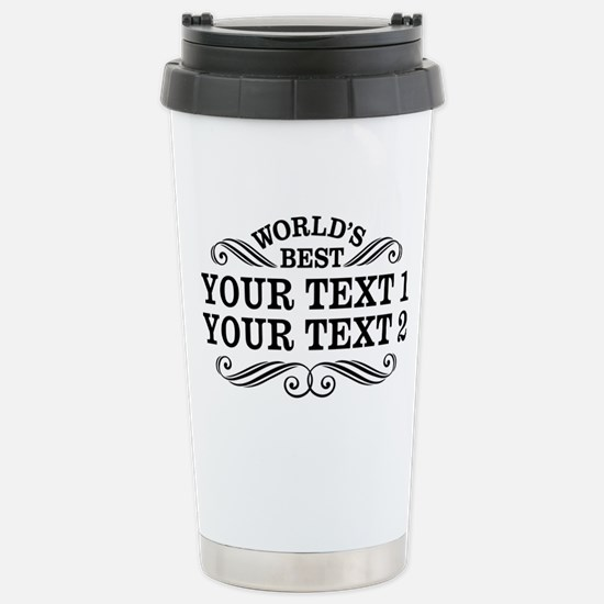 Universal Gift Personal Stainless Steel Travel Mug