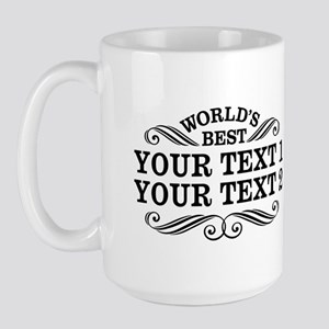 Universal Gift Personalized Large Mug
