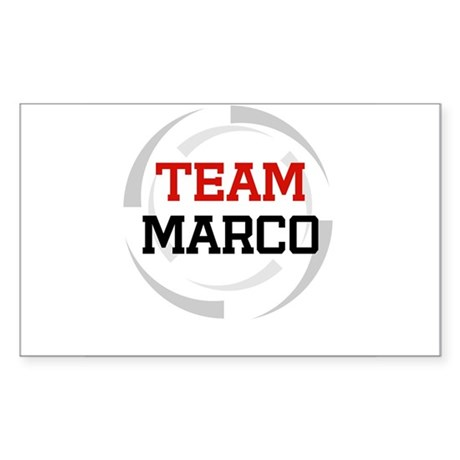 Marco Rectangle Sticker
