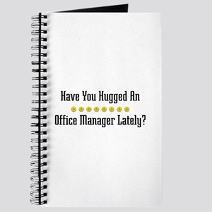 Hugged Office Manager Journal