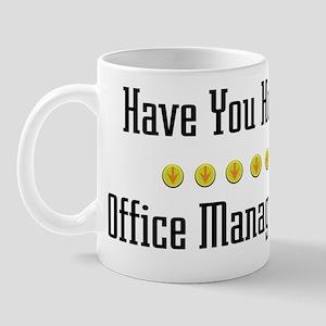 Hugged Office Manager Mug