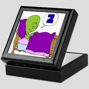Sleeping Alien Keepsake Box