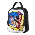 Witch Spider Moon Neoprene Lunch Bag