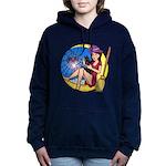 Witch Spider Moon Women's Hooded Sweatshirt