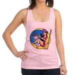 Witch Spider Moon Racerback Tank Top