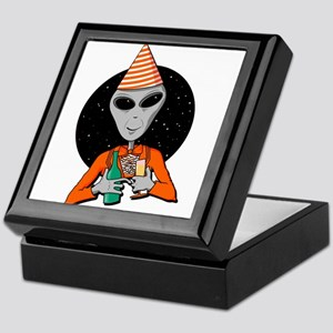 Party Alien Keepsake Box