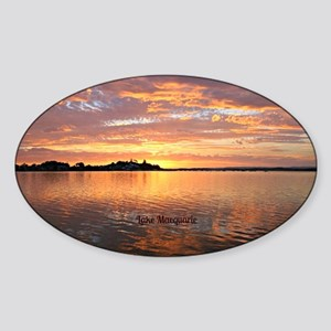 Lake Macquarie, New South Wales Sticker (Oval)