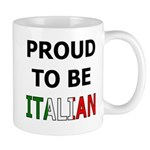 Proud to be Italian Mug